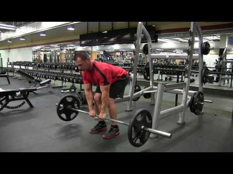 Barbell Close Grip Bent Over Row