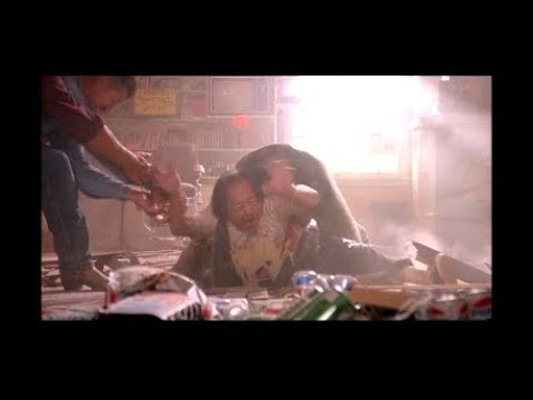 Death Of Wong - Escaping The Store - Scene From 1990 Movie Tremors