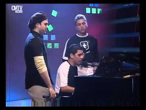 Banda XXI video Entra a mi vida - Estudio CM 2002