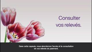 Consulter vos relevés dans le Portail des fournisseurs TELUS Santé