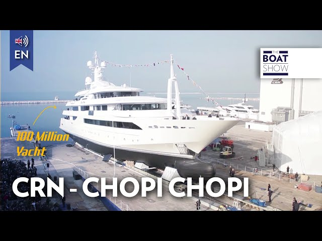 "[ENG] $100 MILLION 88m SUPERYACHT ""CHOPI CHOPI"" - Review - The Boat Show"