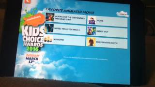 2016 kids choice awards voting