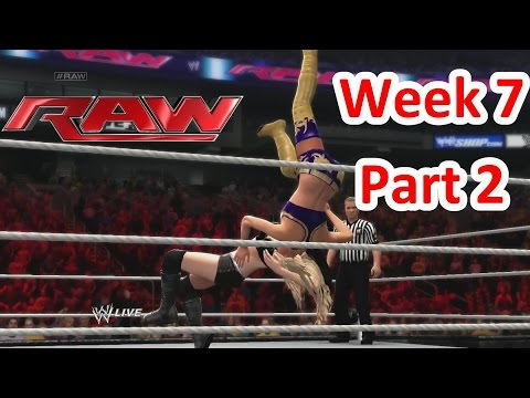WWE2K14 Storylines Raw S3 Week 7 - Ever The Opportunist Part 2