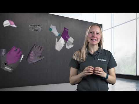 GripGrab Rouleur cykelhandsker til kvinder grøn video