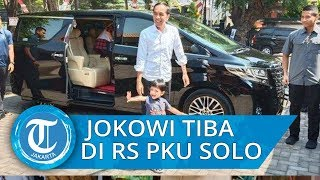 Presiden Jokowi Sudah Tiba di Solo, Kelahiran Adik Jan Ethes Tinggal Menghitung Waktu