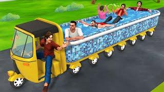 बिट्टू का ऑटो स्वीमिंग पूल Auto Swimming Pool Hindi Kahaniya हिंदी कहनिया - Moral Stories Fairy Tale