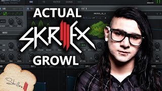 ACTUAL SKRILLEX GROWL - XFER SERUM [Preset Download]