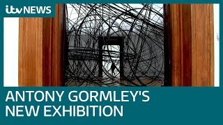 Sir Antony Gormley Pushes Boundaries Of Art With Eccentric New Exhibition | ITV News
