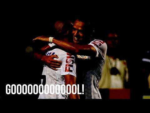 Corinthians x São Paulo - Fábio Santos faz o segundo gol do Timão