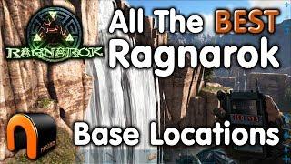 ARK Ragnarok ALL THE BEST BASE LOCATIONS