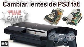 Cambiar Lente En Todos Los Modelos PS3 Fat