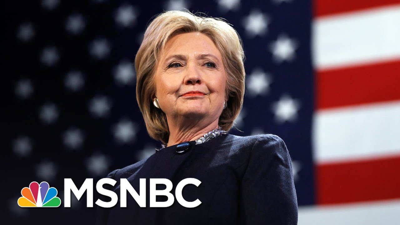 Hillary Clinton Delivers Message to Young Girls | MSNBC thumbnail