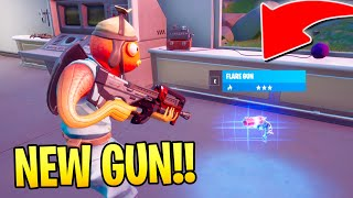 *NEW* Flare Gun Gameplay in Fortnite!  (SHOOTS FIRE)