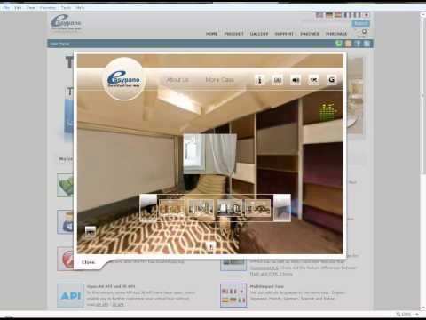 Virtual tour software Easypano Tourweaver 7 beta introduction.mp4