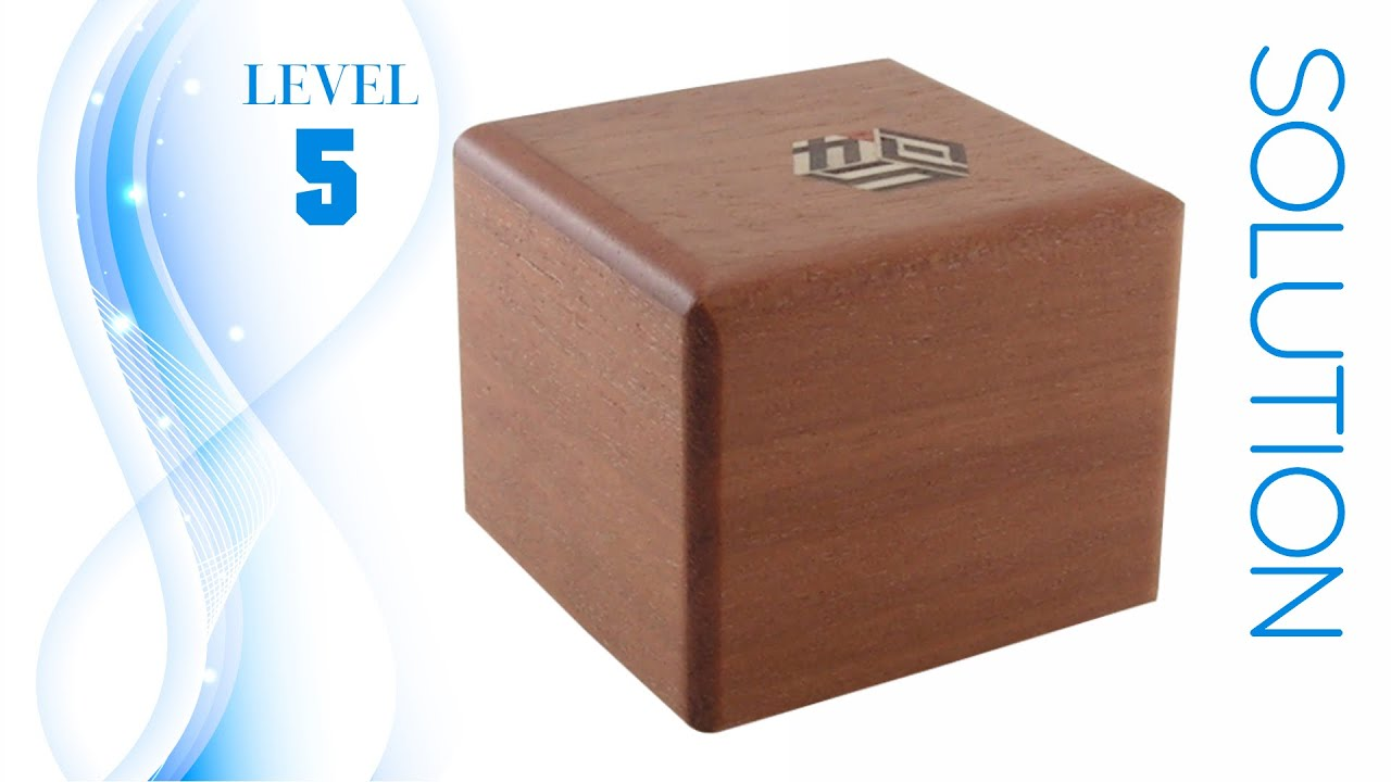 Karakuri Small Box #4 Puzzle – Solution