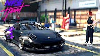 Need For Speed Heat: BIGGEST WING EVER!? Porsche 911 Carrera GTS Customization Gameplay