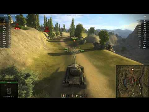 World of Tanks - Games With Friends - Abbey - T29/KV-3/IS-2