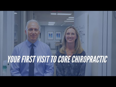 What to expect on your first visit to CORE Chiropractic