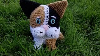Calico Blob Cat Crochet Pattern Tutorial