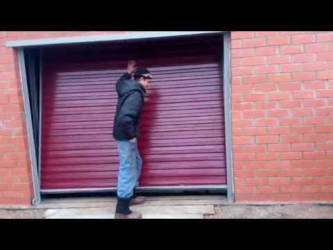 Подъемные гаражные ворота с уплотнением своими руками