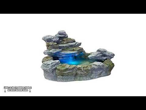 💎 STILISTA Mystischer Gartenbrunnen Olymp Brunnen in Steinoptik - Wunderschöner Steinbrunnen