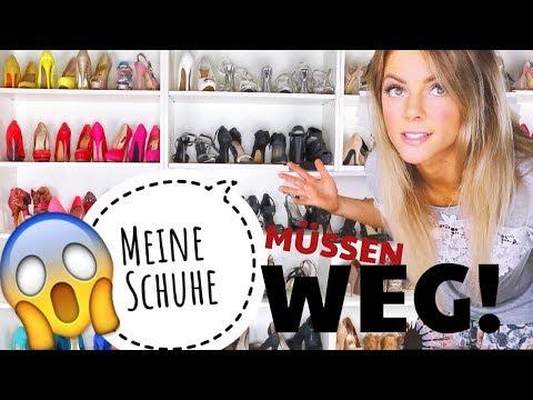 Meine Schuhe - High Heels und Sneaker 💥 Das kommt WEG! 😱✨ Schuhsammlung Sunny Haul Berlin 2017