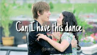 CAN I HAVE THIS DANCE | High School Musical 3