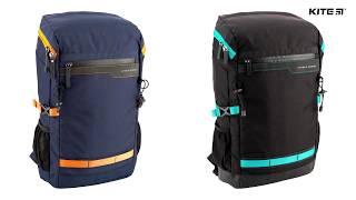 """Pюкзак деловой Kite&More K18-1018XL-1 от компании Интернет-магазин """"Радуга"""" - школьные рюкзаки, канцтовары, творчество - видео"""