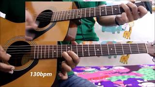 -UDD JA KALE KAWAN Bollywood Old Hit Song - Tabs/leads easy lesson beginners version
