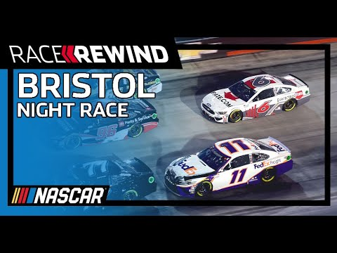 NASCAR バスプロショップNRAナイトレース (ブリストル・モーター・スピードウェイ)16分のレース映像でみる大迫力のNASCARレースハイライト動画