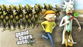 RICK AND MORTY IN GTA 5! - GTA 5 Mods Gameplay