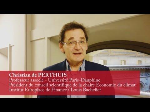 Vidéo de Christian de Perthuis