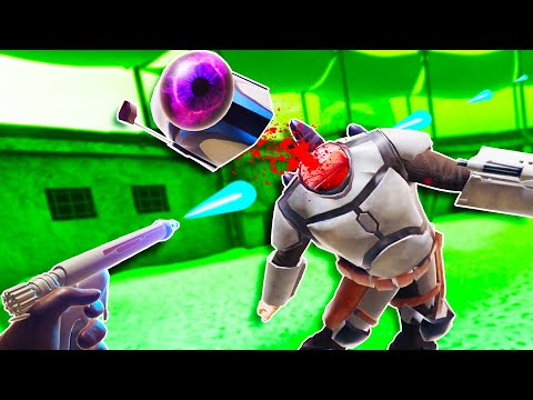 I Blasted off Jango Fett's Head in Blade and Sorcery VR Multiplayer!