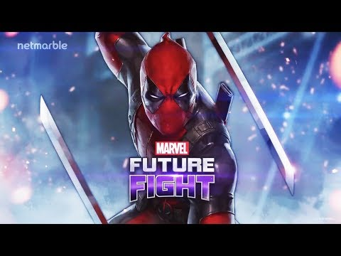 Marvel Future Fight Deadpool, Domino and new Cable Uniform Announced at San Diego Comic Con 2018!