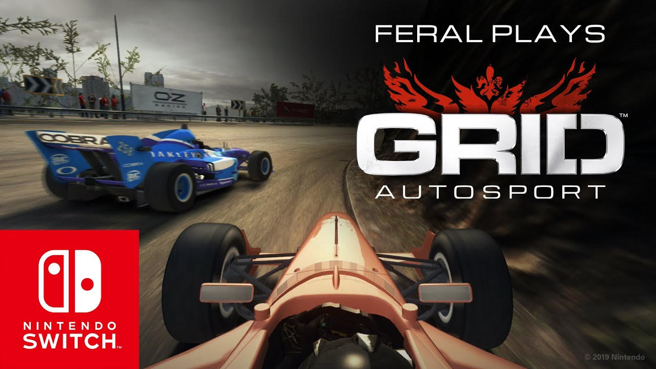 GRID Autosport disponibile su Nintendo Switch