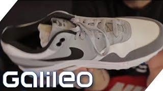Gefakte Sneaker: Daran könnt ihr sie erkennen | Galileo | ProSieben