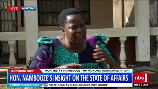 Topical Discussion: Hon. Betty Nambooze's Insight On The State Of Affairs.