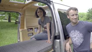 Stunning Transit Connect Conversion: Compact And Elegant Custom Camper  Tiny Van   Van Tour