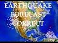 1/20/2015 -- Earthquake Forecast areas show.