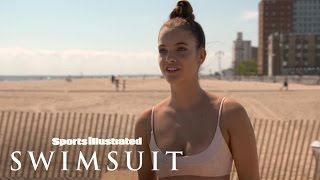 Sexy Beach Volleyball Tournament With Barbara Palvin | Sports Illustrated Swimsuit