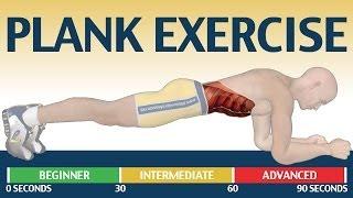 Как накачать пресс: Plank