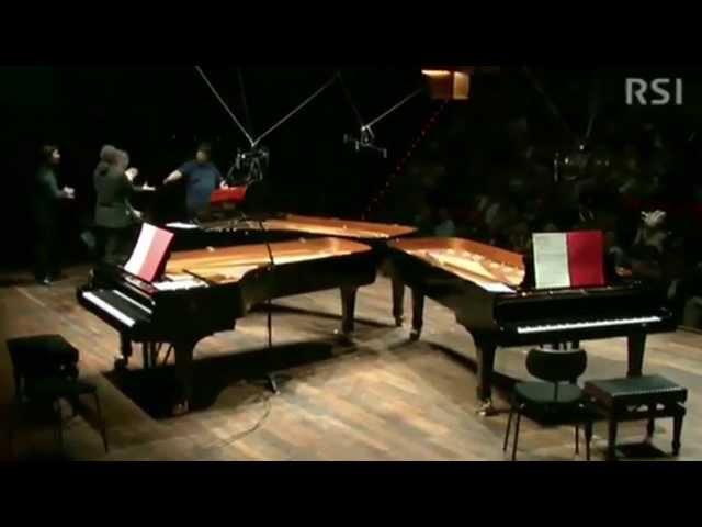 "Carlo Boccadoro: ""Vaalbara"" (2013), for three pianos"