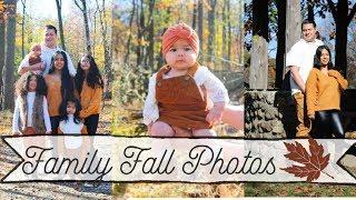 FALL FAMILY PHOTOSHOOT!
