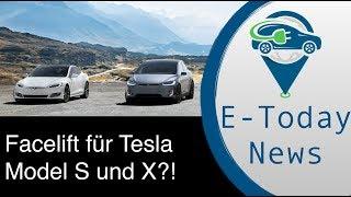 Tesla Model S Und X Facelift: Größer Und Früher Als Gedacht?! Sion Kommt Deutlich Später Als Geplant