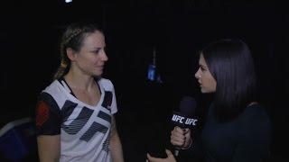 Fight Night Phoenix: Nina Ansaroff Backstage Interview