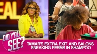 Tamar Exits 'The Real', Makeup Free Keke & Special Guest Michaela Angela Davis   Did Y'all See?