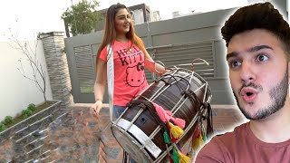 THIS GIRL PLAYS DHOL (AMAZING!)