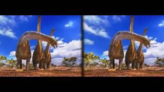VR 3D Dino Rexy Kids SBS video VR