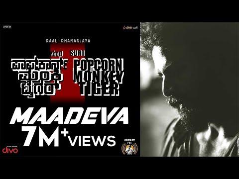 Popcorn Monkey Tiger - Maadeva Lyric Video
