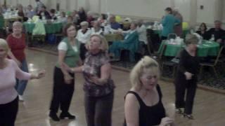 SEDUCED Line Dance @ the DREAM GALA @ the COPA ROYALE 3.18.10 Delray Beach, Florida.AVI